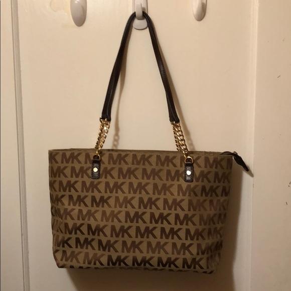 bb97de7336bce6 Michael Kors Bags | Jet Set Chain Shoulder Bag | Poshmark